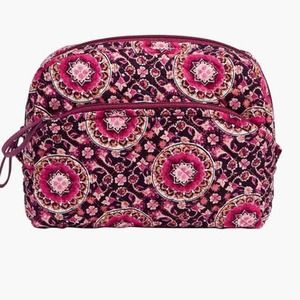 NWT Vera Bradley Iconic Mini Cosmetic Raspberry